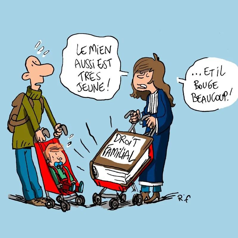 Le droit familial illustré