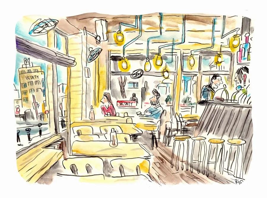 Café Walvis, Bruxelles-Brussels