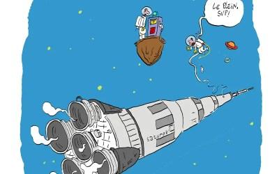 Combien de carburant pour faire voler une fusée ?