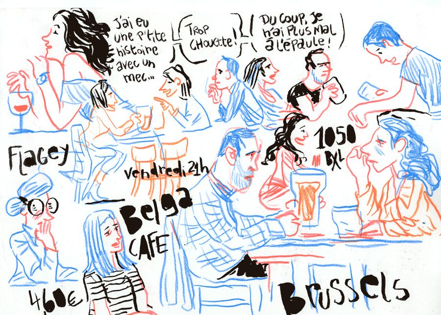 Café Belga – Place Flagey – Ixelles