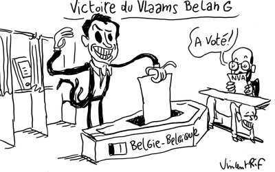 Dimanche noir en Belgique