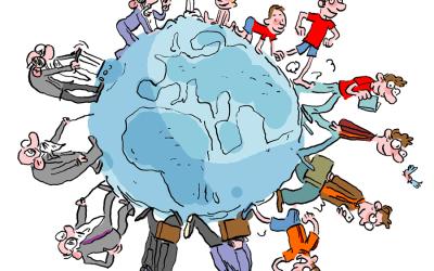 Marche-t'on assez pour faire le tour de la Terre en une vie ?