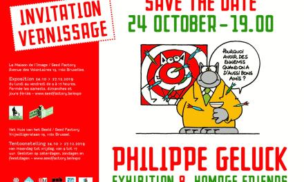 Invitation au vernissage de l'exposition Geluck&friends