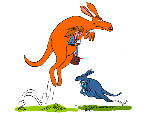 Combien y a-t-il plus d'humains ou de kangourous en Australie ?