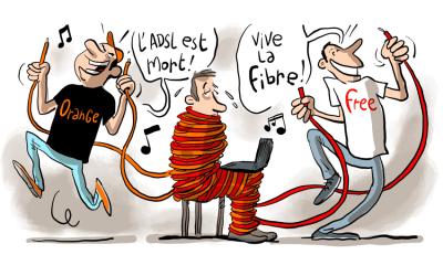 Fibre ou ADSL ?