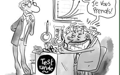 Test rapide pour COVID-19