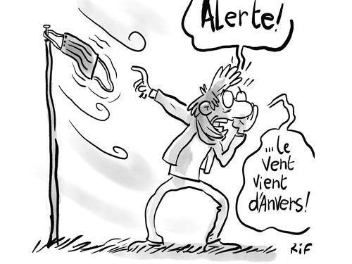 Anvers et… contre toux