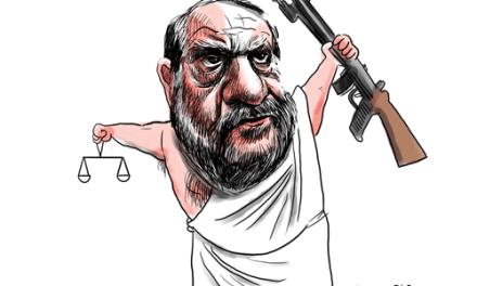 Caricatures politiques sur Ipad