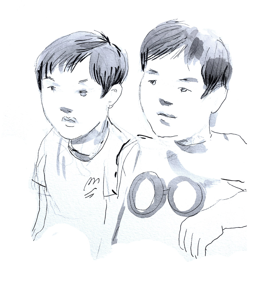 Portraits rapides d'enfants - animation par un portraitiste et dessinateur