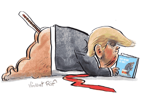 Donald Trump positif au Covid