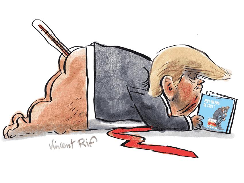 Donald trump tested COVID-positive