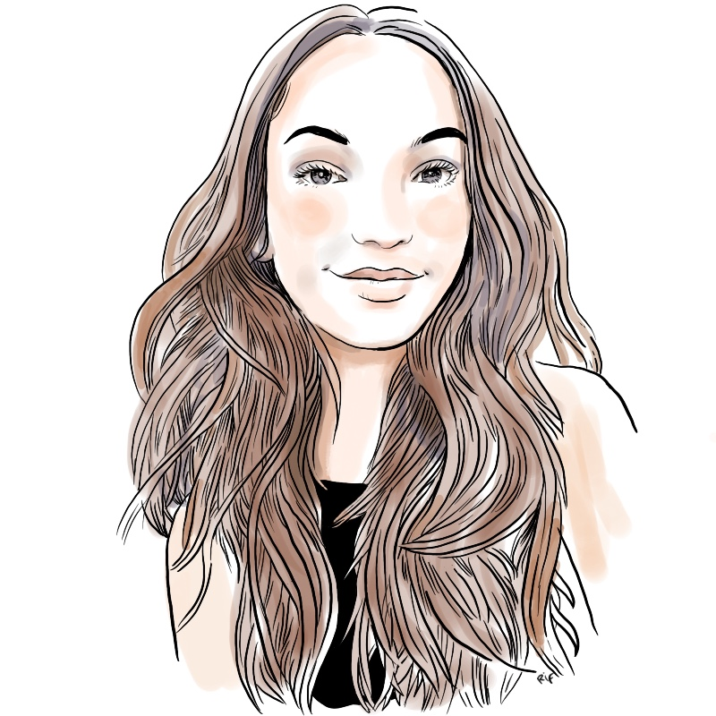 portraits avatars dessinés en couleurs pour associations, entreprises ou magazines