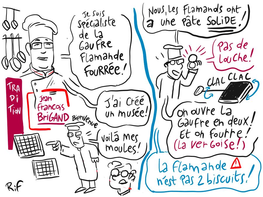 histoire de gaufres en facilitation visuelle - jean francois Brigand