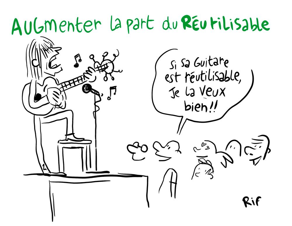 Part du réutilsable- festivals et politiques de transition écologique en Occitanie