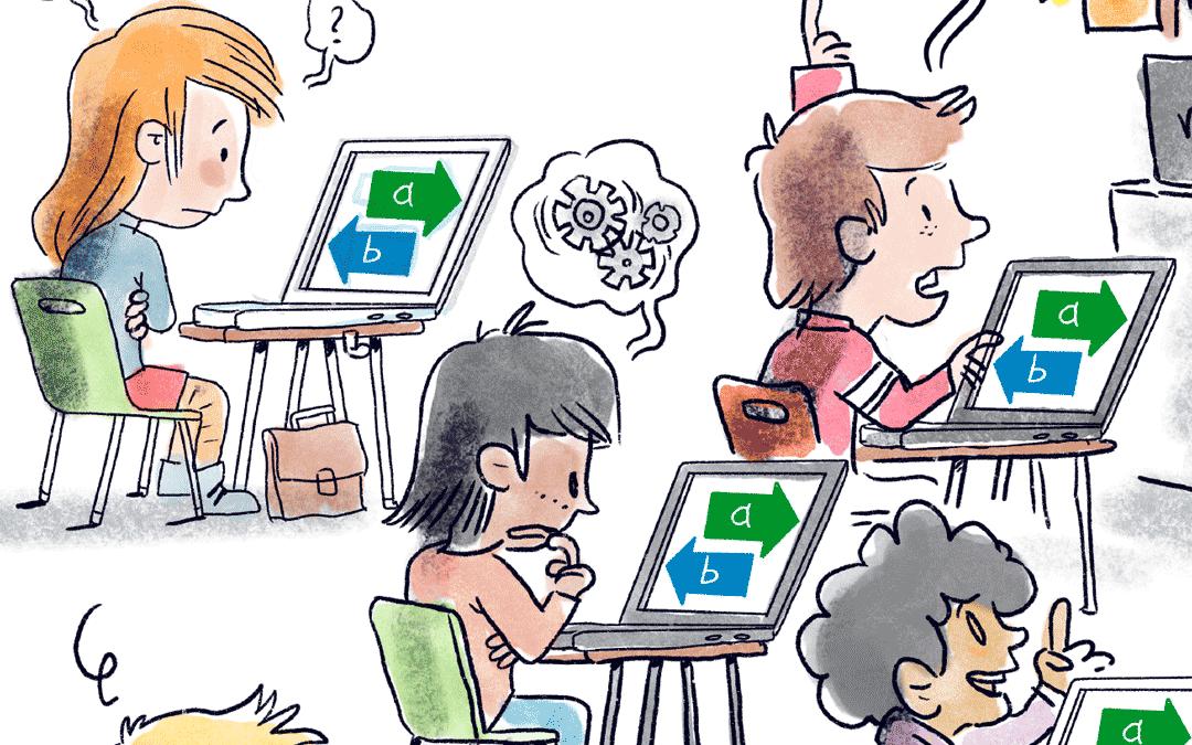 Sur Internet, on n'apprend pas à apprendre