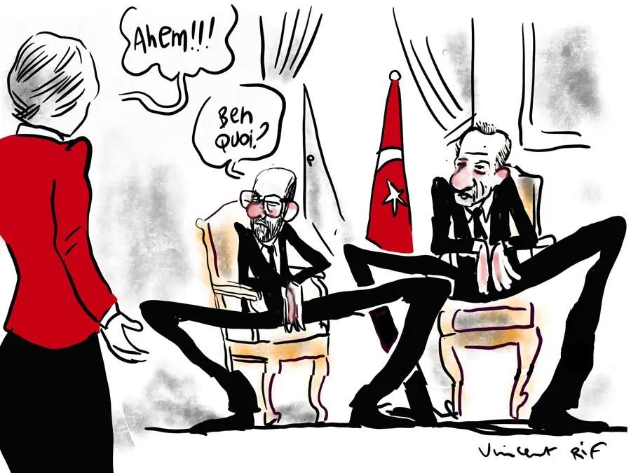 le Sofagate, Relations tendues entre Charles Michel et Ursula von der Leyen, après le camouflet protocolaire de Recep Tayyip Erdogan