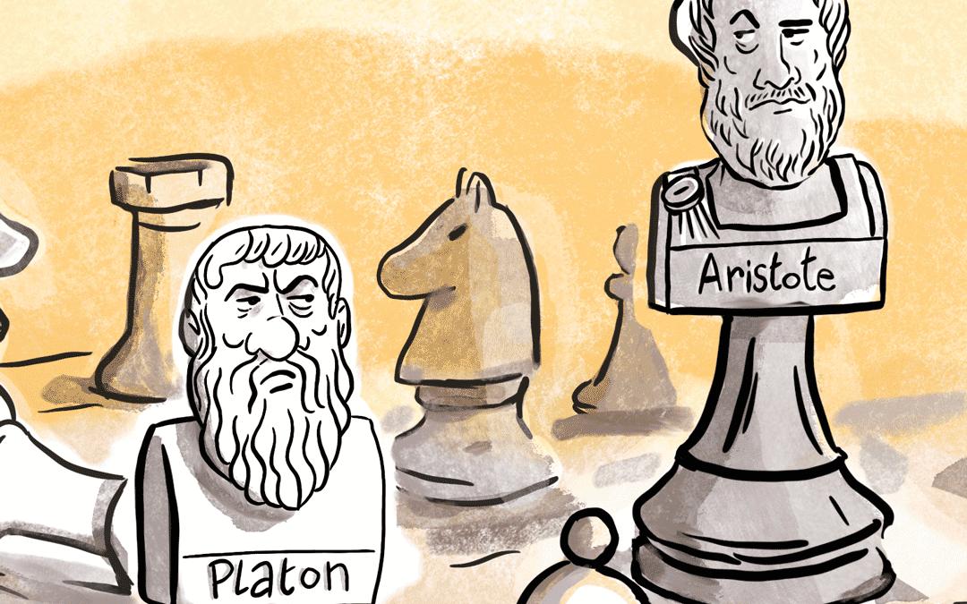 Platon versus Aristote