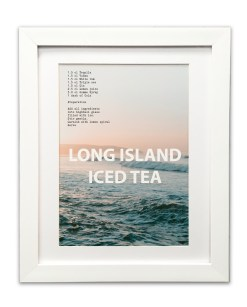 Long Island Ice Tea Cocktail Recipe Print