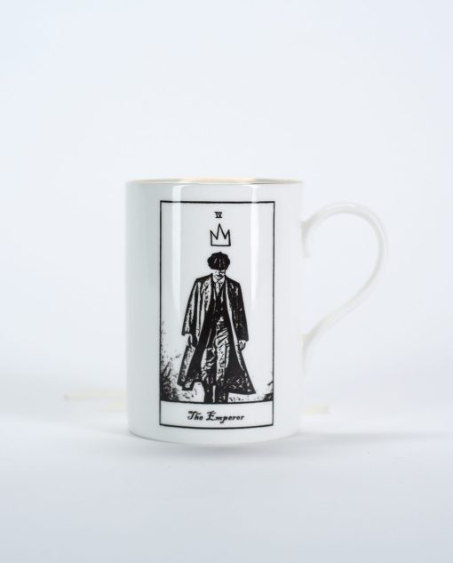 Peaky Blinder's Tommy Shelby tarot style mug