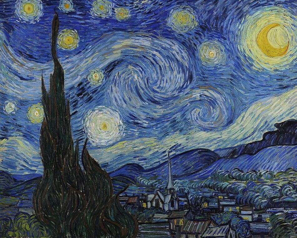 Starry Night:10 Secrets of Vincent van Gogh Night Stars Painting
