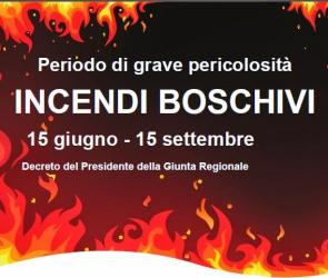 Puglia, stato di grave pericolosità per gli incendi boschivi anno 2020