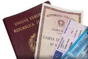 I documenti di riconoscimento validi in Italia