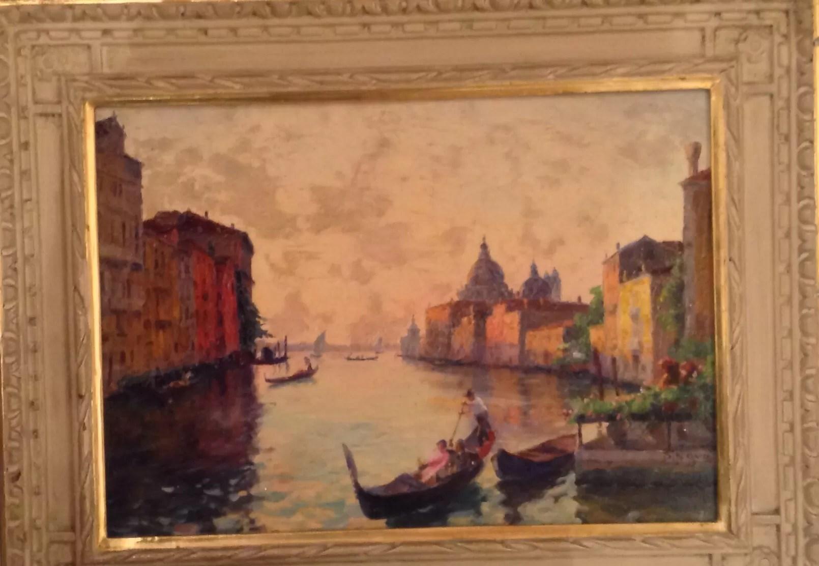 Stefano Novo pittore veneziano tra 800 e 900 veduta del