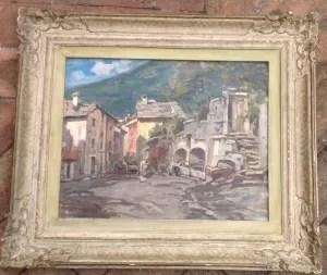 Francesco Sartorelli pittore veneto tra 800 e 900