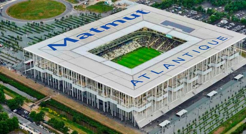 Le nouveau stade de Bordeaux sappellera  Matmut Atlantique  03092015  Communiqus