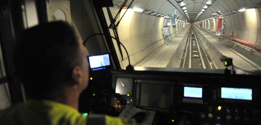Inauguration du tunnel Liefkenshoek dans le port dAnvers Belgique ralis en consortium par