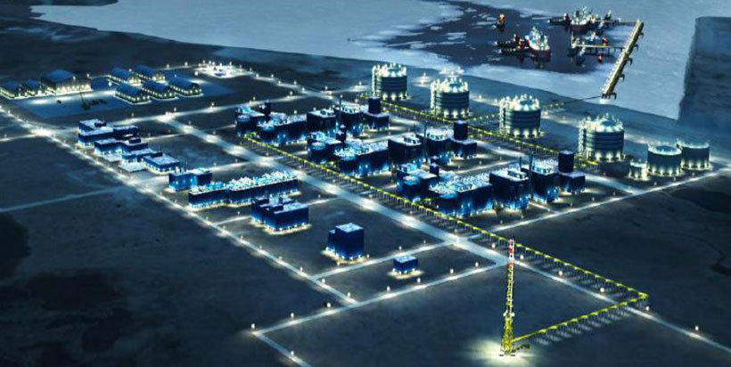 VINCI remporte un contrat de construction de quatre rservoirs de stockage de GNL pour Yamal LNG