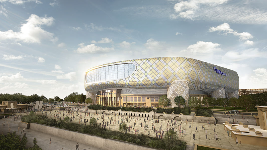 VINCI signe le contrat de construction du stade du Dynamo de Moscou en Russie 26062013