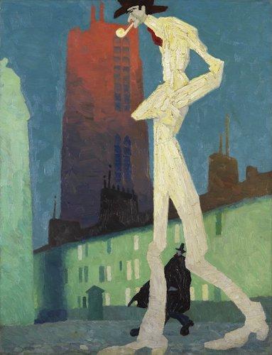 """Lyonel Feininger, """"L''Homme Blanc"""" (1907)"""
