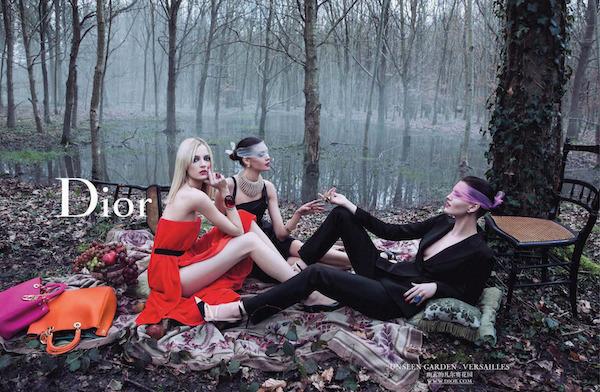 Inez Van Lamsweerde et Vinoodh Matadin. Photographie de la Secret Garden pour Dior (2013)