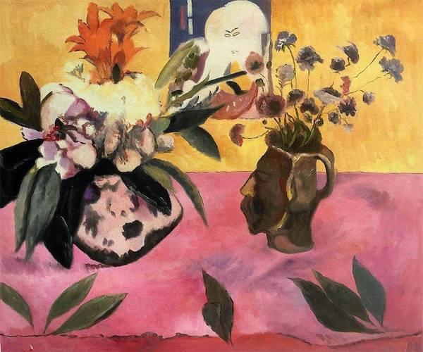 Paul Gauguin, Nature morte à l'estampe japonaise