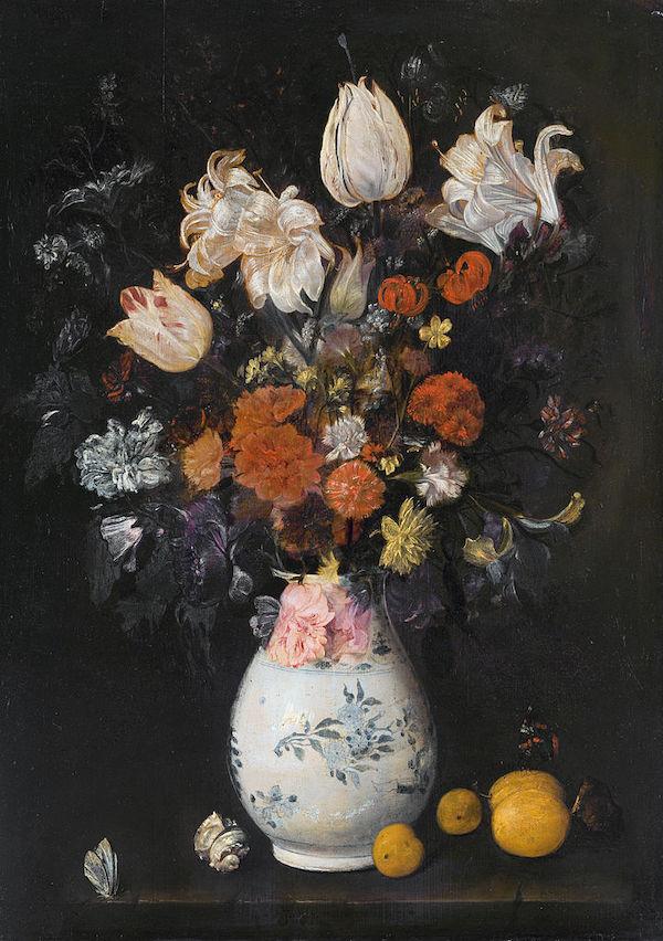 "Judith Leyster, ""Fleurs dans un vase"" (1654)"