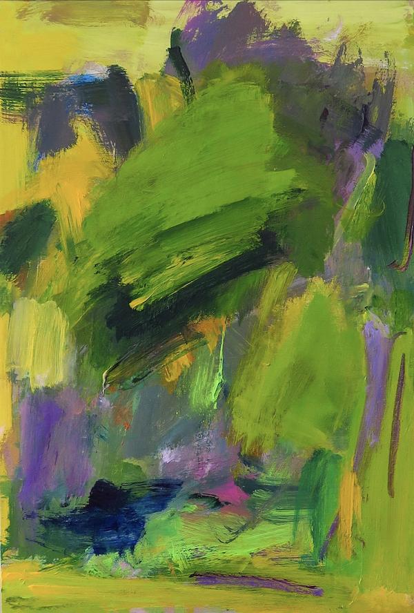 Maxilian, peinture à l'huile (2020 © Maxilian) avec l'aimable autorisation de l'artiste.