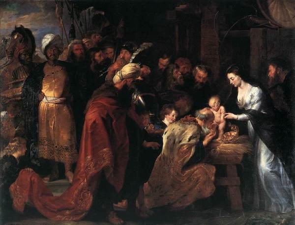Pierre-Paul Rubens l'adoration des mages