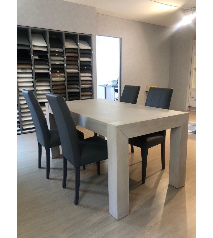 Il loro design moderno si distingue per. Modern Table In Solid Wood Vinciguerra Shop
