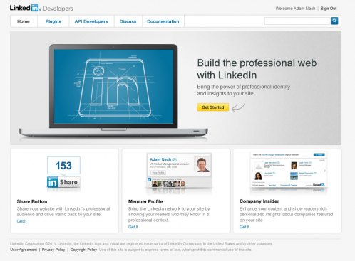 LinkedIn Developer Network