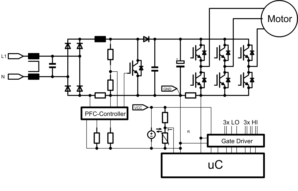 medium resolution of an application designed for a 4 khz pwm frequency and for a 16 khz application are not created equal and their filter effort and switching loss have to be