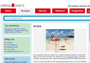 Aruba verassingsvakantie