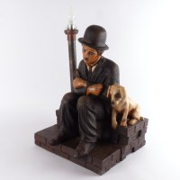 Charlie Chaplin Lamp - Vindingrijk Kringloopwarenhuis Breda