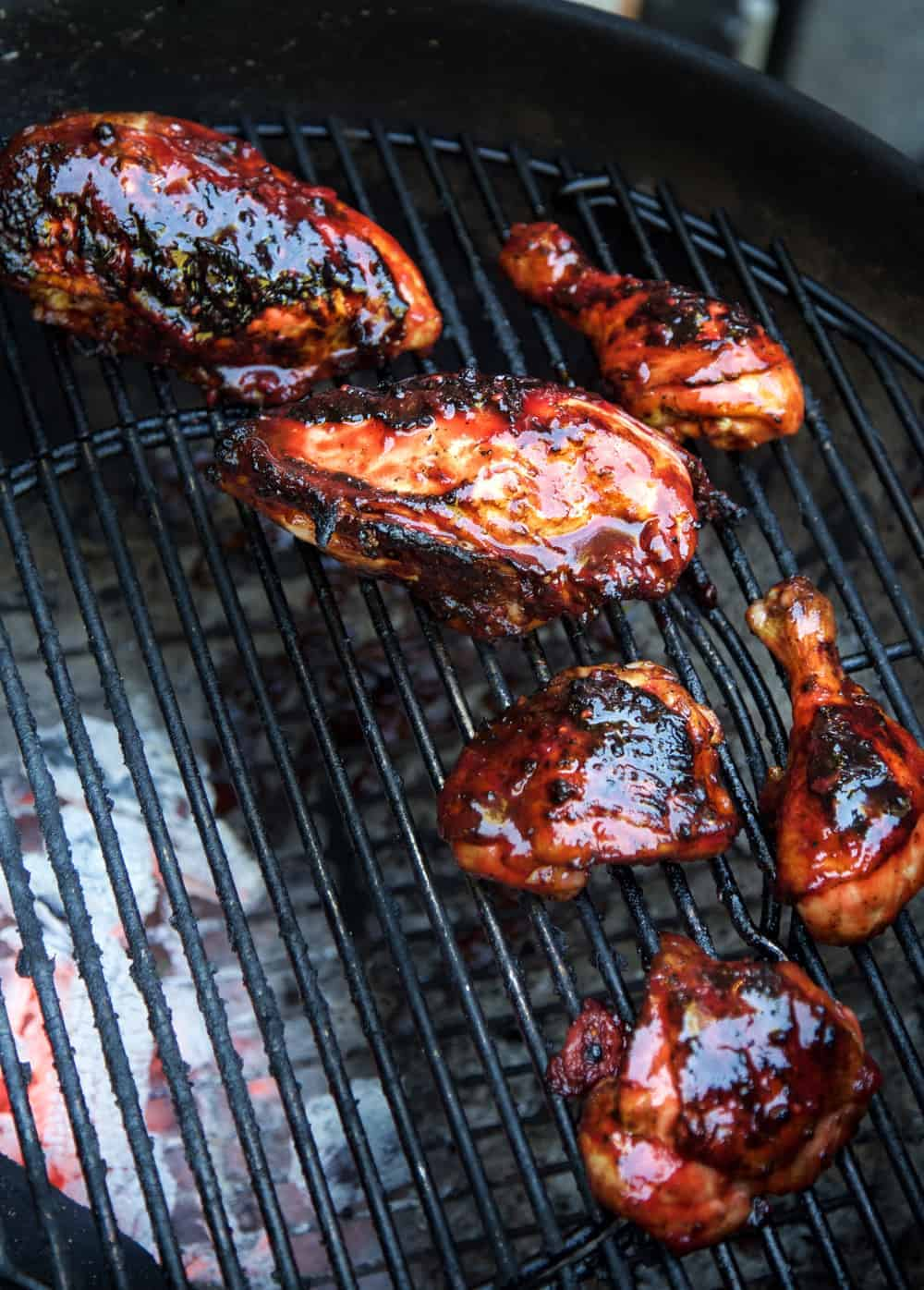 Grilled Chicken with Blackberry BBQ Sauce  Recipe and