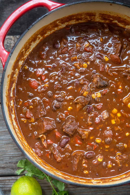 Chili Recipes Winning Award Turkey