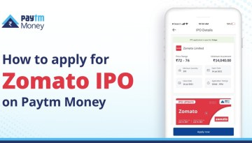 Zomato IPO: How to apply through Paytm Money