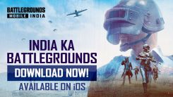 BATTLEGROUNDS MOBILE INDIA has launched on iOS App Store
