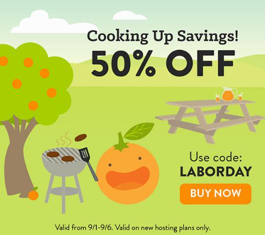 small orange discount