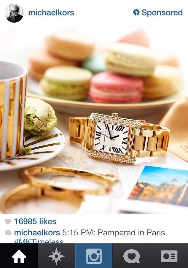 Spend on Instagram ads