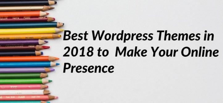 best wordpress themes in 2018
